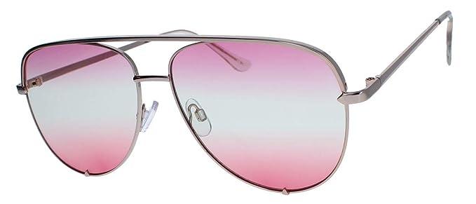 timeless design 5772f 86a77 amashades Vintage Classics Trendige Damen Pilotenbrille Sonnenbrille  oversized Oceanic Tönung mit Farbverlauf AV63 (Gold