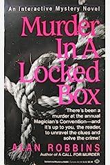 Murder in Locked Box Mass Market Paperback