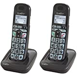 Clarity D703HS DECT 6.0 Amplified Cordless Handset & Charger (2-Pack)