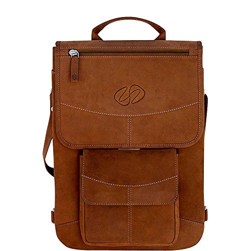 MacCase Premium Leather 15'' MacBook Pro TB Flight Jacket + Backpack Option by MacCase