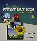 Elem Stats&mymathlab Glue&ssm&msl Inside Pk, Larson, Ron and Farber, Betsy, 0134007794