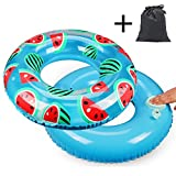 Banzi Swimming Ring Inflatable Swim Pool Float for Adult Kids Summer Pool Beach Party(80cm)
