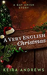 A Very English Christmas: A Gay Amish Romance Short Story