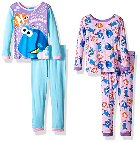 Disney Finding 4 Piece Cotton Pajama