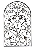 Bellaa 23196 Metal Wall Art Garden Plaque Outdoor Butterfly 31' Wide x 19'