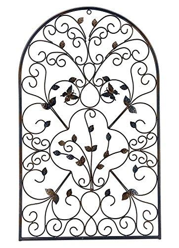- Bellaa 23196 Metal Wall Art Garden Plaque Outdoor Butterfly 31