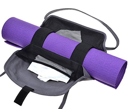 Cosmos Exercise Yoga Mat Carrying Shoulder Strap Bag with Internal and Outside Storge Pocket (Yoga Mat is NOT Included) by Cosmos (Image #3)