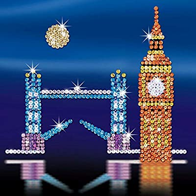 Sequin Art 1316 London Skyline Craft Project From The Style Range: Toys & Games