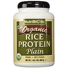 Nutribiotic - Organic Vegan Rice Protein Plain Flavor - 1.5 lbs.