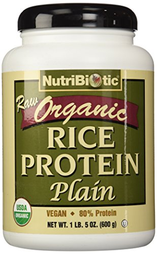 (Nutribiotic, Rice Protein Plain Organic, 21 Ounce)
