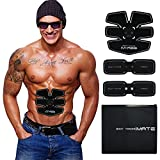 IMATE Muscle Toner, Abdominal Toning Belt Abs Training Gear Portable Fitness Machine Exercise For Abdomen/Arm/Leg Support for Men/Women - 05