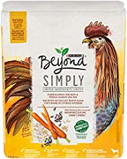 Beyond Simply 9 Natural Dry Dog Food, White Meat Chicken & Whole Barley 10.8 kg