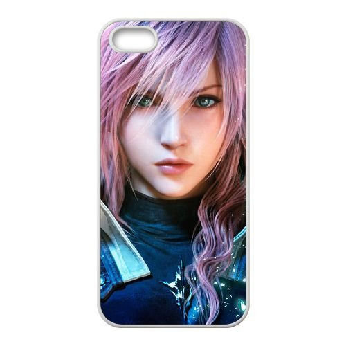 Final Fantasy 003 coque iPhone 4 4S Housse Blanc téléphone portable couverture de cas coque EOKXLLNCD11329