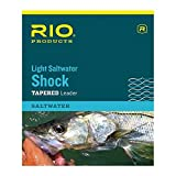 #9: Rio Fishing Products Light Fluorocarbon Saltwater Shock Leader, 10ft, 2 Pack