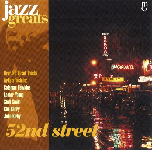 Image result for 52nd street jazz album covers