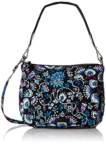 Vera Bradley Carson Shoulder Bag, Signature Cotton, Bramble