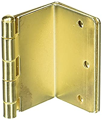 HealthSmart Expandable Door Hinges, Brass