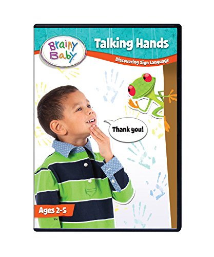 Brainy Baby Talking Hands Sign Language DVD: Deluxe Edition ()