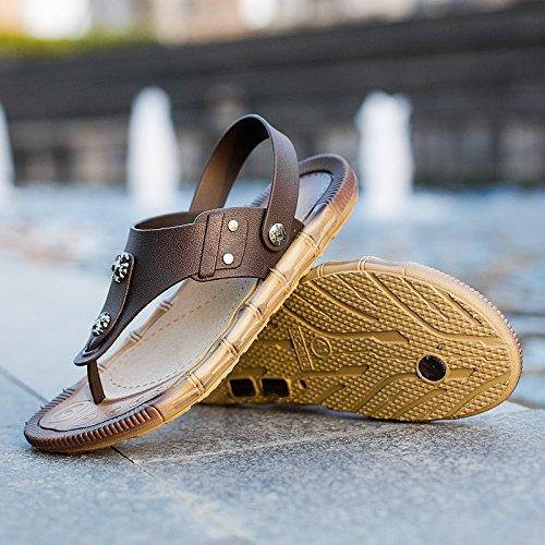 - Le Pantofole, Estate Impermeabili, La Spiaggia Di Moda Le Scarpe Di Colore: Nero, Cachi,Khaki,Eu45,