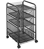 Safco Products Onyx Mesh File Cart