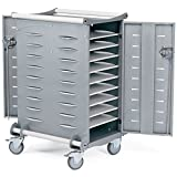 20-Compartment Standard Laptop Charging Cart