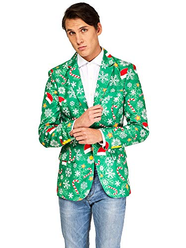(OFFSTREAM Ugly Christmas Jackets for Men in Different Prints – Xmas Sweater)