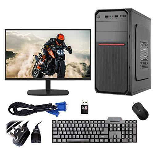Gandiva Desktop Computer (Core i3 1st Gen CPU/H55 Motherboard/4GB DDR3 RAM/500GB HDD/15.6″ Monitor/WiFi) Pre Installed Windows 10, MS Office (Trail Version) and Antivirus