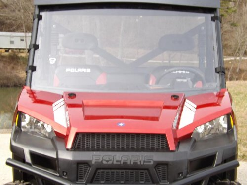 Smoked Windshield (2012-16 Polaris Ranger 900 XP,1000 Tinted