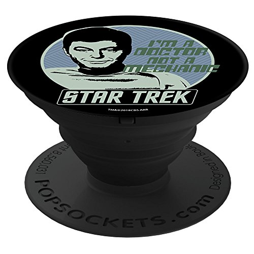 STAR TREK McCoy Badge PopSockets Stand for Smartphones and (Mccoy Pedestal)
