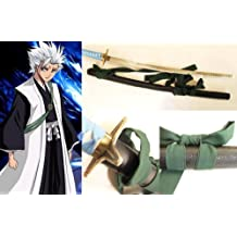 Dream2reality Cosplay Bleach Hitsugaya Toushirou Hyourinmaru Replica Sword T10 Clay Tempered High Carbon Steel Full Handmade Full Tang Katana