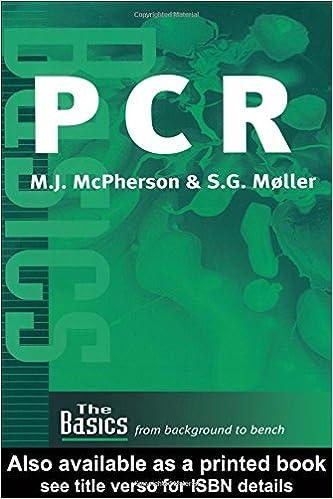 PCR (THE BASICS (Garland Science))