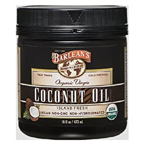 Barlean's Organic Virgin Coconut Oil, 16-Ounce Jar