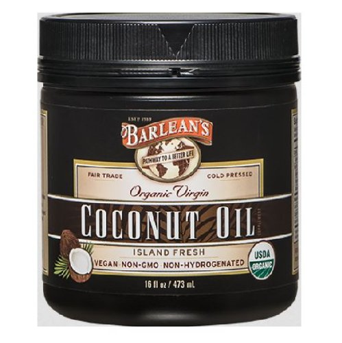 Barleans Organic Virgin Coconut 16 Ounce