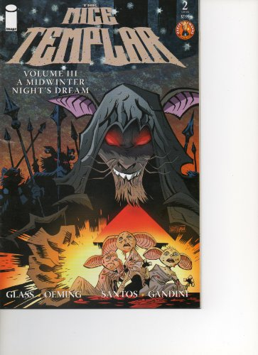 Cvr Glass (The Mice Templar #2 CVR B (A Midwinter Night's Dream, Vol. 3))