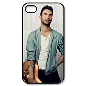 Hot singer adam levine Design Hard Back Case Decal Cover for iphone 4 4s