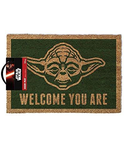 Star Wars Yoda Doormat, Multi-colour, 40 x 60cm