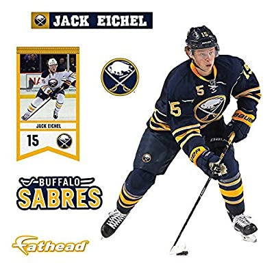 Jack Eichel Buffalo Sabres Fathead Teammate - Peel & Stick Wall Decal