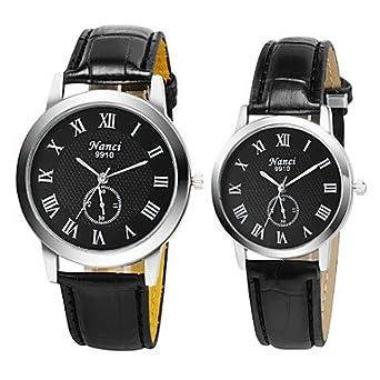 XM relojes nuevos romanos amantes del reloj numeral casuales hombres mujeres viste el reloj de