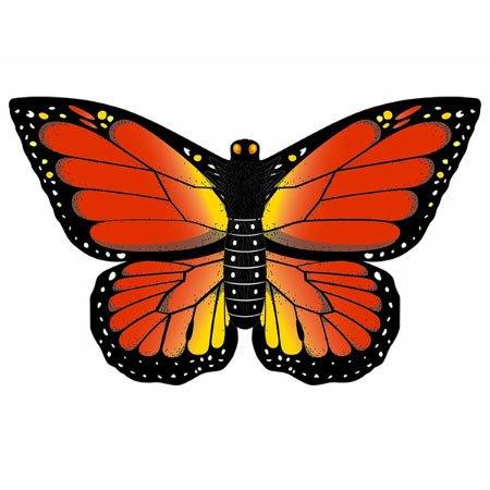 WindNSun Monarch Butterfly Nylon Kite, 32