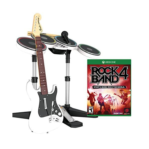 Rock Band 4 Band-in-a-Box Software Bundle for Xbox One - White 1