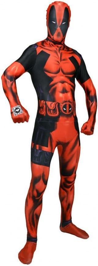 Morphsuits Traje Oficial de Disfraz de Deadpool Tamaño Mediano: 5 ...