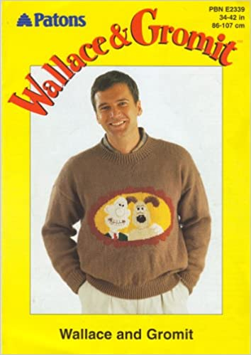 Patons Wallace And Gromit Adults Wallace And Gromit Motif Sweater