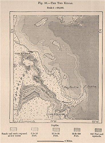 Amazon.com : Kilwa Kivinje & Kilwa Kisiwani Island. Tanzania. German on muslim world map, sahara world map, potosi world map, sofala world map, heian world map, ancient kilwa map, novgorod world map, ancient african kingdom map, varanasi world map, mogadishu world map, gujarat world map, surat world map, plain world map, isfahan world map, kilwa on a map, the meroe kush africa on map, tian shan world map,