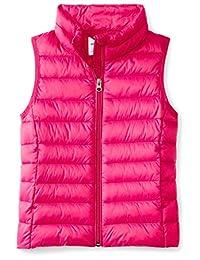 Amazon Essentials girls Water-Resistant Packable Puffer Vest