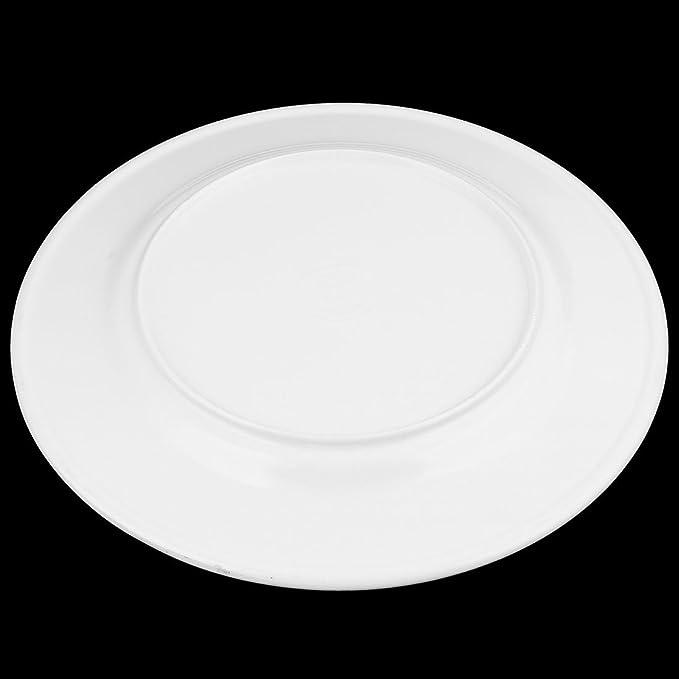 Amazon.com | eDealMax melamina cocina del hogar de forma redonda de la bandeja de la placa de Alimentos fruta de postre Plato de almacenamiento de Orange: ...