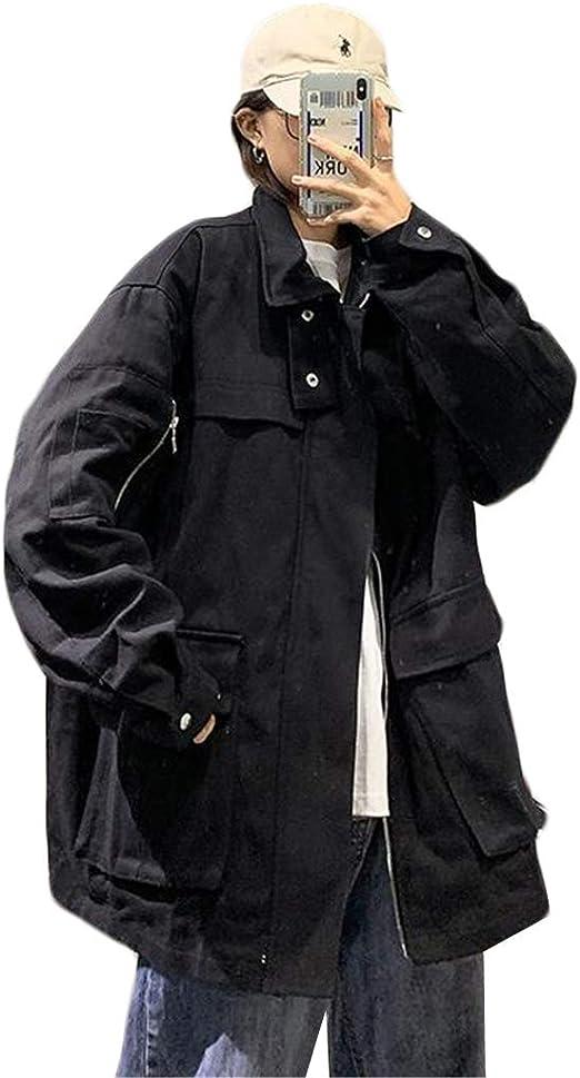 (スーイ)男女兼用 マウンテンパーカー メンズジャケット アウター ワークジャケット 機能性 防寒 メンズボンバージャケット 野球ジャケット バイクジャケット カッコイイ ハンサム おしゃれ 大きいサイズ
