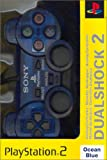 Manette Dual Shock 2 Playstation 2 - Bleu transparent