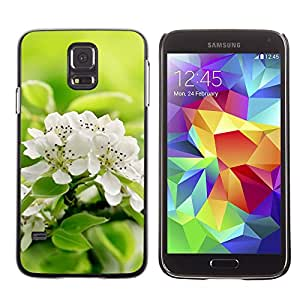 Hot Style Cell Phone PC Hard Case Cover // M00102117 nature fresh flowers // Samsung Galaxy S5 i9600
