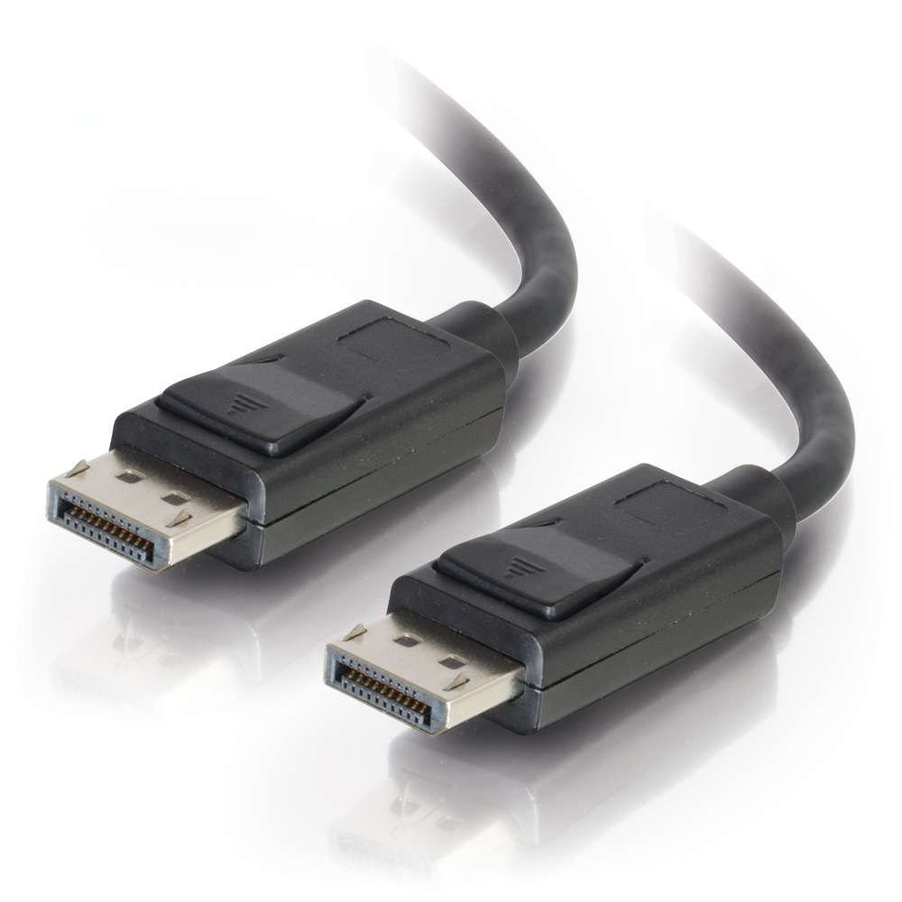 C2G/Cables to Go 54405 DisplayPort Cable with Latches M/M, Black (35 Feet)