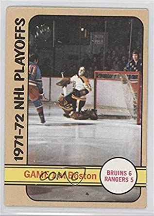 Amazon.com: Boston Bruins Team COMC REVIEWED Good to VG-EX ... Bruins Roster 1972